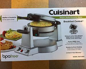 Cuisinart waffle and omelette maker