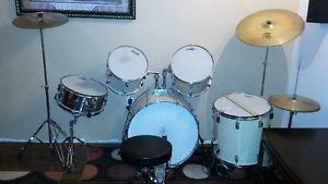 Drum Set and Seat