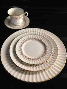 Fine Bone China - Paragon - Harmony-Red Pattern $250 obo