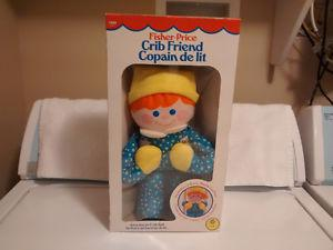 Fisher-Price Crib Friend # - Year  - Like New in Box