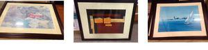 Framed & Matted pictures $35 many to choose from