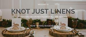 Free linen and decor service for event