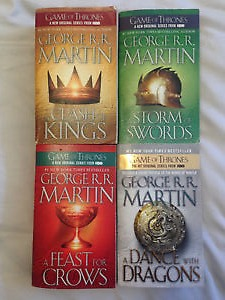 Game of Thrones - Books 2-5