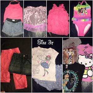 Girls 3T summer clothing lot