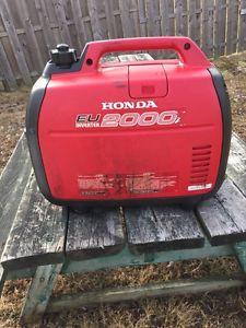 Honda generator eui