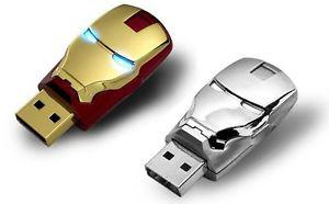 Iron man flash memory drive 16GB and 32GB