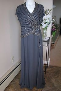 JKARA MOTHER OF THE BRIDE FULL LENGTH GOWN