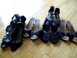 LOT OF SPRING AND SUMMER SHOES SIZES 6 TO 6 1/2