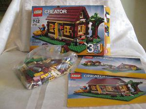 Lego Creator Log Cabin 355 pcs 3-1 toys