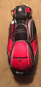 Like New Used Once for 9 Holes DATREK RAGE Golf Bag