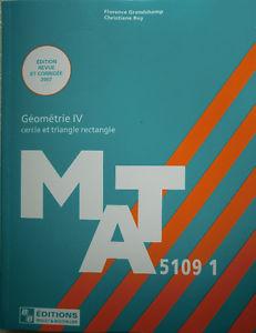 Livres de Mathématique U de M