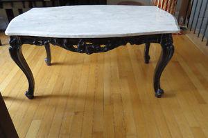 Marble coffee table - Great condition!