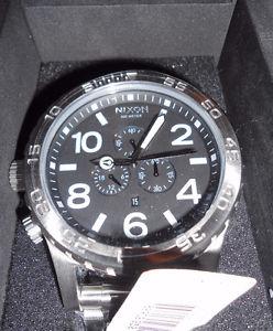 Men's Nixon Stainless Steel / Black Watch