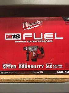 Milwaukee SDS drill brushless bran new