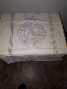 Old Fulton Feed Bag