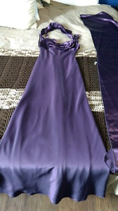 Purple Grad Dress X-small