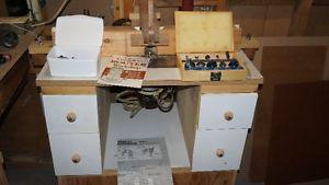Router Table, Router and bits