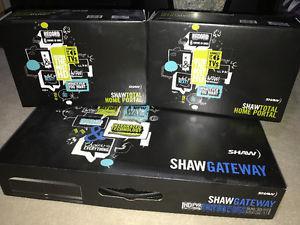 Shaw Gateway DVR & 2 Gateway Portals