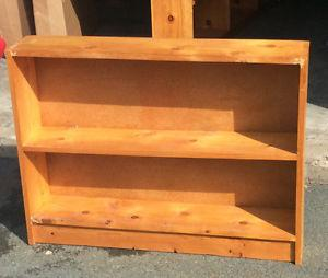 Solid Pine shelf $20 can deliver