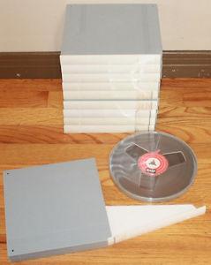 Used BASF ' Reel to Reel Tape W/ Hard Plastic Case