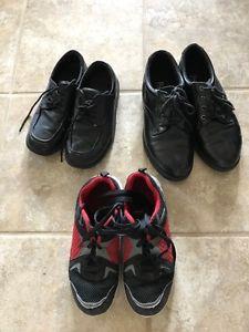 Various Shoes: Size 1.5: Black Dress Shoes - $5