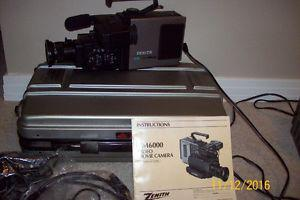 Vintage movie video camera Zenith for sale!