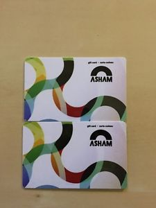 Wanted: Asham curling gift cards 50$