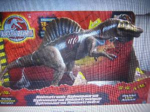 Wanted: Jurassic Park 3 Electronic SPINOSAURUS Action