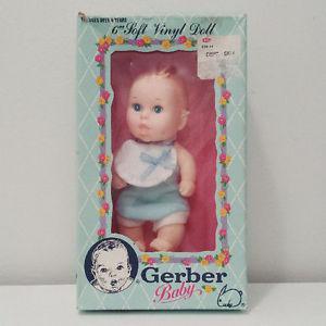 's Gerber Baby Food Advertising Character Doll ORIGINAL