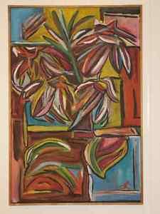 À vendre tableau, en acrylique, art abstrait, numéro 4
