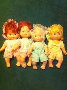 vintage strawberry shortcake kiss dolls