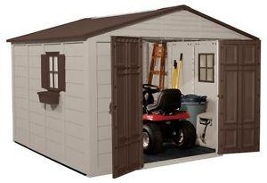 10X10 Resin storage shed