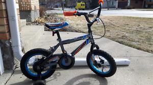 12 inch - boys bike with training wheels