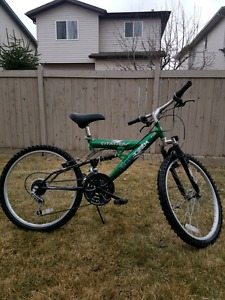 "24"" youth mountain bike $120 OBO"