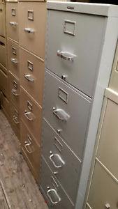 4 Drawer File Cabinet letter $75 / Legal sized $100