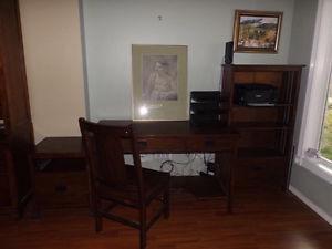 4 piece desk set for home office
