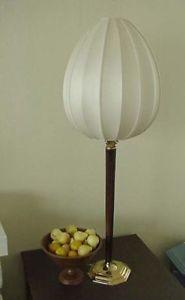 "42"" High Asian Style Table Lamp with Silk Teardrop Lamp"