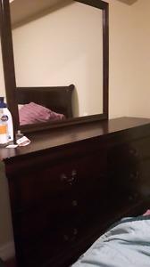 Ashley Sleigh Bedroom set-- Queen