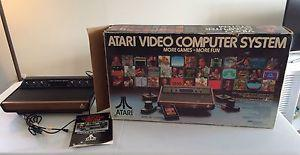 Atari console - not sure if it works