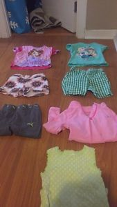 Bag of toddler girl clothes 2-3T