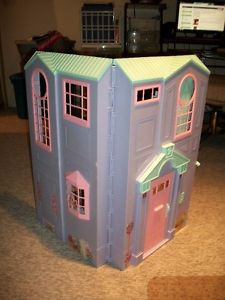 Barbie Doll House and Accessories