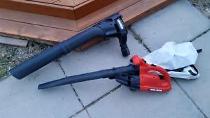 Black & decker leaf blower & vacuum