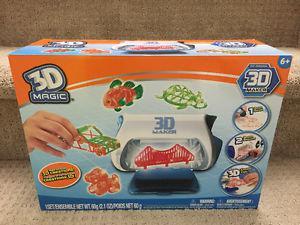 ===Brand New====3D Magic 3D Maker $19 ==Unopened==