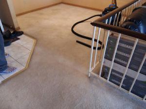 Carpet for free total around 600 sqft