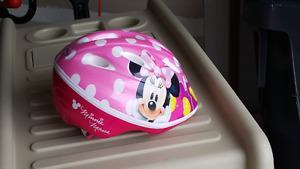 Children's bike helmet (Minnie Mouse)