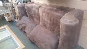 Couch and chaise for sale