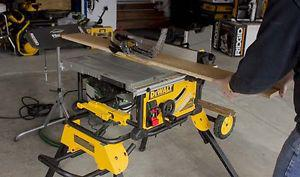 Dewalt Compact Job Site Table Saw with Scissor Stand