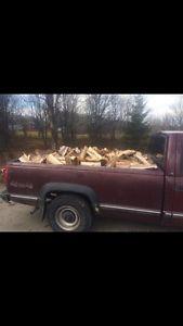 Dry, Cut and Split Firewood