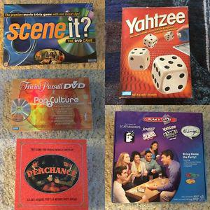 EXCITING LOT OF BOARD GAMES - NO MISSING PIECES!