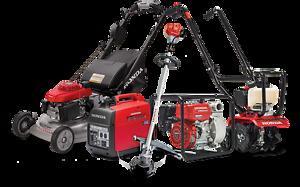 Honda Power Equipment and Yard Equipment
